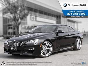 2014 BMW 6 Series 650i Xdrive 3.90% Up To 84 Mo. OAC! $329 Biwee