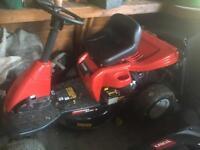 Ride on Lawn Mower MTD MiniRider 60RDE
