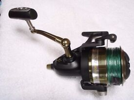 Offshore Fixed spool Reel used once.
