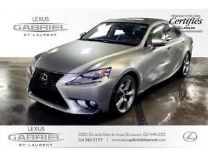 2014 Lexus IS 350 LUXURY NAVIGATION LEATHER SEAT SURFACES + POWE