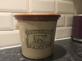 Victorian butter pot