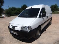 Peugeot Expert 2.0 HDI van 74,000 miles new mot 2006 electric windows