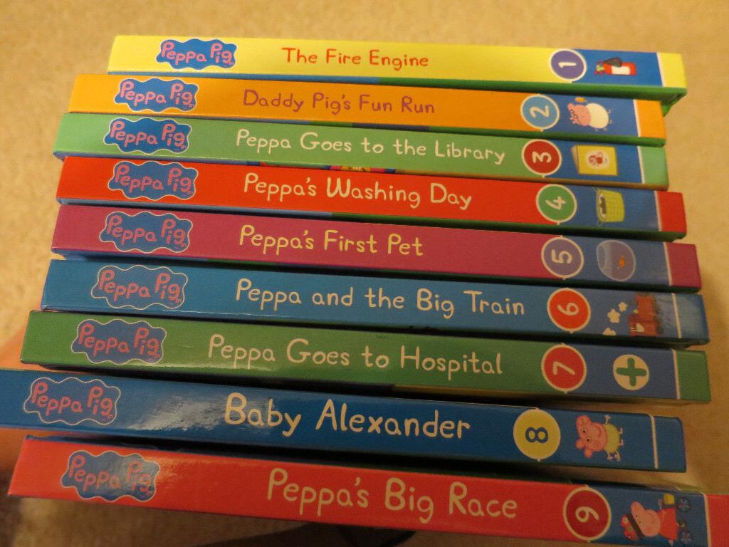 Peppa Pig board books Number 1-9