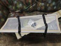 Reimo camper motorhome caravan bunk bed safety net