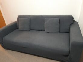 3 seater M&S Sofa for sale with cover