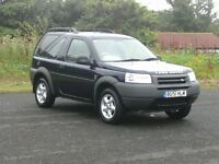 LAND ROVER FREELANDER 1.8ES PART-EX CLEARANCE (WINTERS COMING)