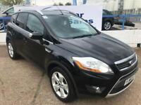 FORD KUGA 2.0 ZETEC TDCI 2WD 5d 134 BHP A GREAT EXAMPLE INSIDE AND OUT (black) 2011