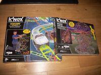 K'Nex sets - Roller Coaster and Ferris Wheel