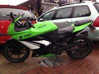 Kawasaki ninja 250r limited edition colours