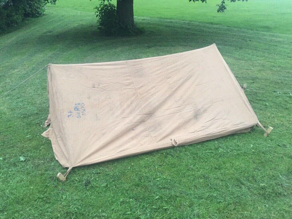 Heavy duty canvas tent - vintage -military surplus | in Droylsden,  Manchester | Gumtree