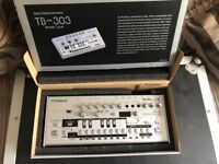 Roland Tb-03 tb303 boutique bass line synthesizer synth as new boxed