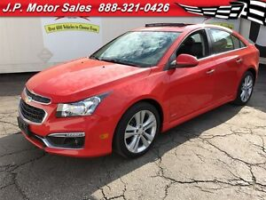 2015 Chevrolet Cruze 2LT RS, Automatic, Leather, Only 44,000km