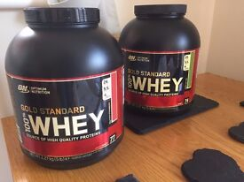GYM Supplements (Whey Protein / Tribulus Terrestris / Flaxseed oil / -Glutamine / Oceanpure Calcium