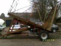straw trailer