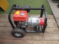 Clarke FG2500 2.4kVA Portable Petrol Powered Generator