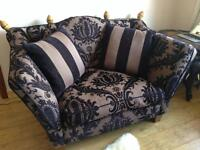 Two seater sofa/chaise longue (Sterling Furniture) IMMACULATE CONDITION