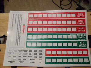 hager fuse business office industrial quality consumer unit fuse board labels stickers wylex legrand mk hager