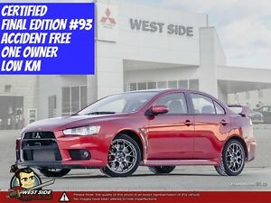 2015 Mitsubishi Lancer Evolution GSR Final Edition–Accident Free