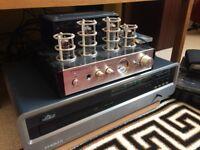 HIGH QUALITY HIFI SEPERATES SYSTEM - SWAPS - PRISM 2 MOD SQUAD CD, TUBE AMP & BT, MONITOR AUDIO B4'S