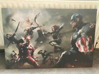 Avengers wall canvas art