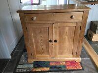 Pine Dresser Base - Antique