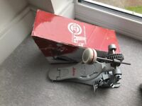 Ludwig Atlas Pro single bass drum kick pedal - excellent condition, boxed