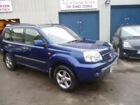 Nissan X-TRAIL Sport,2184 cc turbo diesel 4x4,6 speed manual,sunroof,tow bar fitted,recent cam belt