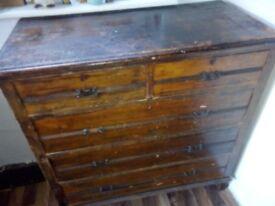 Old dresser needs to be refurbished