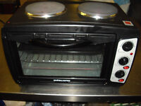 James Andrew small oven cooker with hob. Ideal forcamper or general use