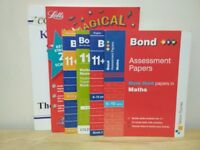 Bond 11+,CGP,Letts Pack of 6 Books 9-10