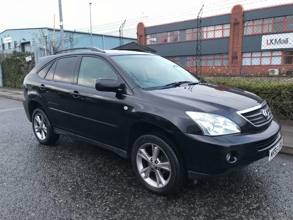 lexus rx 400h hybrid satnav drives lovely heated leather privacy glass sunroof 4990 in. Black Bedroom Furniture Sets. Home Design Ideas