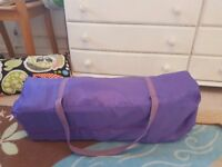 Purple two levels travel cot FREE