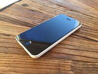 iPhone 5c White 8GB unlocked, with charger and cable