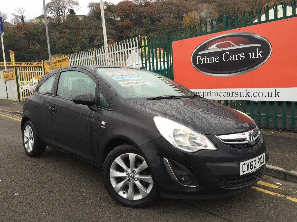 2012 62 Vauxhall Corsa 1.2 i 16v Active 3 door 5 Speed Manual Petrol