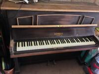 Kemble London upright piano
