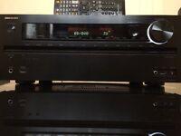 ONKYO TX-NR616 THX CERTIFIED HDMI, USB/IPOD, 3D, 4K UPSCALING, NETWORK SPOTIFY, RADIO 7.2 RECEIVER.