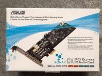 ASUS Xonar DX 7.1 PCI-E Sound card