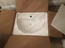 White Bathroom sink for sale