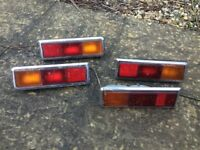Rear lights for Mk 1 Ford Escort or Capri