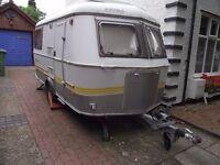 Eriba Triton 420GT 2003 touring caravan 2 berth/washroom + awning/caravan mover