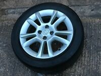 Vauxhall Corsa D 1.2 SXi 2007 Single Alloy Wheel