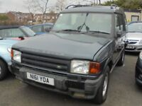 LANDROVER DISCOVERY 2495cc ES TDI AUTOMATIC TURBO DIESEL 4X4 5 DOOR 1996-N REG