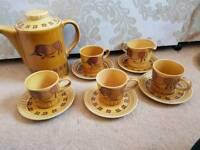 Vintage Palissy Tea Set