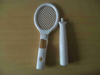 Tennis Racket and Baseball for Nintendo Wii