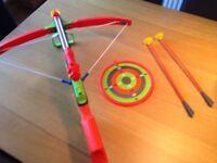 Boys toy crossbow