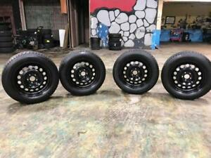 225 60R 65R 17 BF GOODRICH WINTER SNOW TIRES & RIMS 5X114.3 BOLT 9/32NDS NISSAN INFINITI FORD MAZDA TOYOTA HONDA & MORE