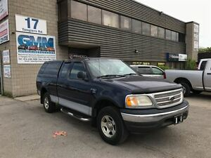 2003 Ford F-150 XLT Extended Cab Short Box 4X4 Gas w/ Cap