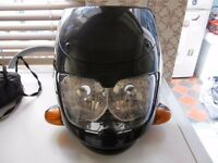 MOTORCYCLE HEADLIGHT & INDICATORS