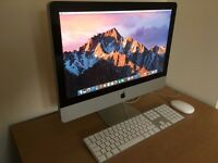 """21"""" iMac 3.0 GHz i3 - 8 gig Ram - 1 Terabyte HYBRID Drive - Excellent condition"""