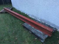 Steel beam RSJ